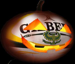 rugby pumpkin wb
